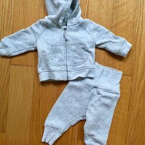 H&M newborn sweatsuit
